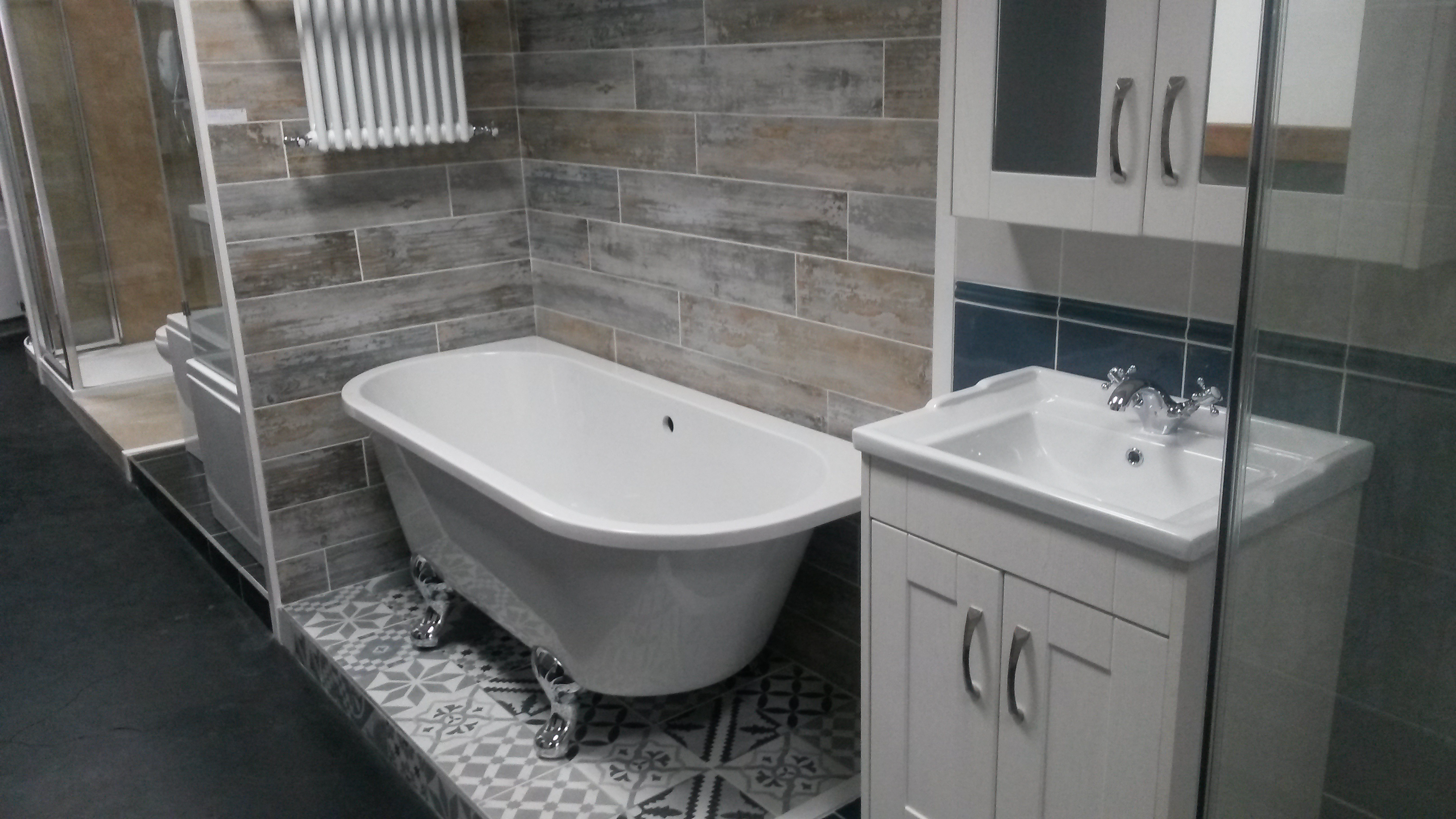 Bathrooms pvc panels belfast northern ireland choice for Bathroom ideas belfast